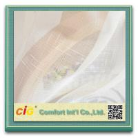 Buy cheap Yarn Dyed Cross Grain Sheer Curtain Cloth Cross Modern Curtain Fabric for Decoration product
