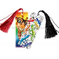 Buy cheap Personalised 3D Lenticular Bookmark For Schools , 3d Printed Card product