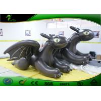 Buy cheap PVC Inflatable Cartoon Characters Giant Black Inflatable Toothless Dragon product