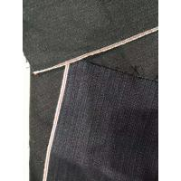 China 13.2oz Red Selvage Corduroy Cotton Soft Touch Navy Denim Fabric W2992-2 on sale