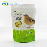 Gravure Printing Pet Food Packaging Bags For Birds Accept Customized Logo