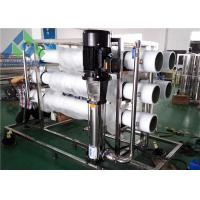 220VAC Seawater Reverse Osmosis Desalination Plant With Intelligent PLC System