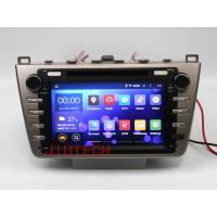 China Quad core Android 4.4 Car Stereo GPS Navigation DVD Multimedia Headunit For Mazda 6 Atenz on sale