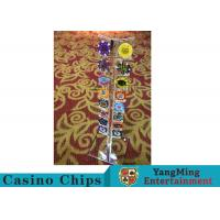 Buy cheap Casino Acrylic Poker Chips Case Casino Chips Carrier For Round 40 - 42mm Chips product