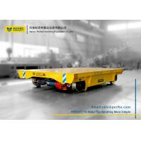 China Angle Box Wheel Rail Powered Transfer Carts for Bridge Girder Transport on sale