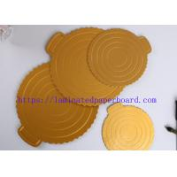 Buy cheap Factory Price Champagne Gold PET Metallic Foil Paper for Cake Board/ Packaging from wholesalers