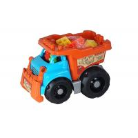 Recycled Plastic Building Blocks Vehicle Play Set For Toddlers And Babies