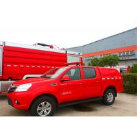 Buy cheap Front Overhang 1000mm Fire Command Vehicles 1800mm Lifting Height ISO9001 Certificated product