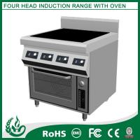 Induction Range with Oven