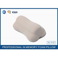 Quality Well Supported Memory Foam Neck Pillow For Comfort Driving with elastic band and for sale