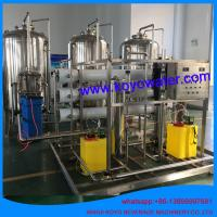 China 10T/H reverse osmosis pure water complete production line water treatment equipment with RO system on sale