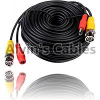 Buy cheap 20 Meters BNC Coaxial Cable DC Power Cable Black Color For CCTV Camera DVRs product
