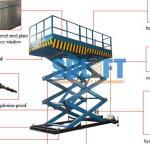 Buy cheap 2 Ton 3m Hydraulic Elevator Lift , Warehouse Lift Platform For Cargo Lifting product