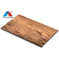 Buy cheap PVDF Coating Aluminum Composite Panel For Wall / Ceiling Decoration product