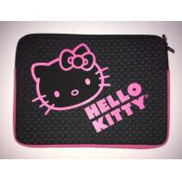 Buy cheap Black HELLO KITTY Laptop Sleeve Notebook Computer Tablet Case Protector Padded Carrier,water resistant,slim 7inch product