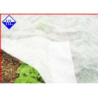 Buy cheap Breathable Non Woven Ground Cloth For Weed Control , Plant Cover Fabric 15gsm - 40gsm product