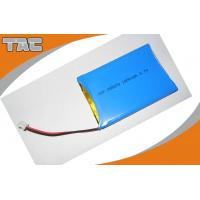 Buy cheap GSP055070 3.7V 1800mAh Polymer Lithium Ion Batteries With PCB product