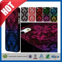 Scratch Proof Hard Apple Cell Phone Cases , Dust proof Plastic Skin Shell Iphone 5S Case