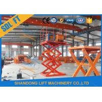 Buy cheap 4000mm Lift Height Electric Scissor Lift Table , Hydraulic Scissor Lift For Cargo product
