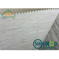 Buy cheap White Men's Suit Hair Interlining Canvas And Goat Hair 160cm Width product