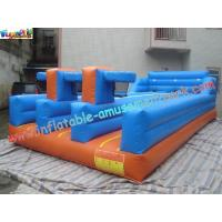 Buy cheap PVC Inflatable Bungee Run Triple Lane,Three LaneInflatable Sports Games Bungee product