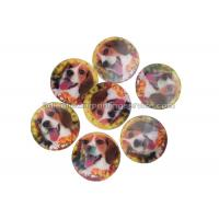 Buy cheap PET / PP Lovely Animal Image Sticker 3d Lenticular Printing Adhesive For Kids product