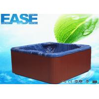 Buy cheap Balboa control acrylic shell square massage outdoor 6 seat hot tub with two from wholesalers