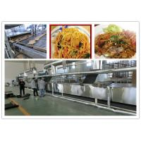 Buy cheap Full Automatic Fried Instant Noodles Manufacturing Machine Large Production Capacity product