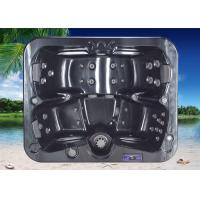 Single Reversible Lounger Hot Spa Tub,Whirlpool Massage Bathtub with 850 Liters
