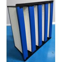 Buy cheap Compact H14 HEPA Filter With ABS Frame / HEPA Air Filtration System product