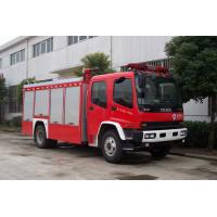 Buy cheap 139kw 189hp Max Torque 510N.M Pumper Tanker Fire Trucks With Cooling Water Pipeline from wholesalers