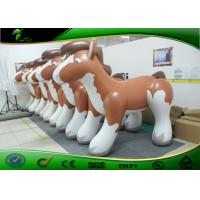 Buy cheap Anti-UV 10 ft Inflatable Toys For Toddlers Outdoor Holiday Inflatables Fat Horses product