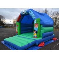 China 12x15 Football Kids Inflatable Bouncer Castle Used In Family Party on sale