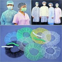 Buy cheap Medical/Clip/Bouffant/Mob/Strip/PP/Surgical/Doctor/Nonwoven/Nurse Cap product