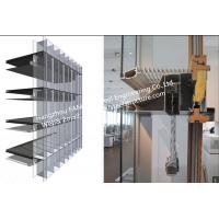 Buy cheap Double Glass Wall Ventilated Facade Office Building Glass Curtain Wall Stick Built System product