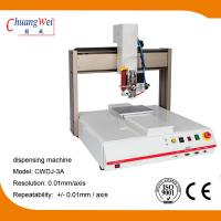 Buy cheap 3 Axis Single Working Automatic Dispensing Machine Optional Dispensing Path product