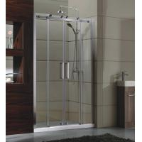 Buy cheap sliding door small Corner Shower Enclosures Tempered  glass Material Magnet lock strip product
