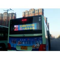 Buy cheap GPRS / 3G Full Color Taxi LED Display , Wireless Bus LED Display Boards product