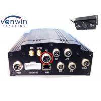 Buy cheap AHD vehicle mobile DVR 4 channel 720P 4G school bus car CCTV SD card MDVR with RFID and GPS product