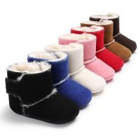 China wholesale 7 colors Winter snow warm boots 0-18 months anti-slip shoes baby boots on sale