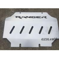 Buy cheap Silver Car Skid Plate For Ford Ranger T6 T7 2012 Onwards Engine Protector Cover product