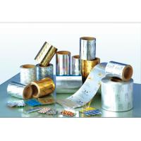 China Al-pet Aluminium Foil Roll  With Polyester Mylar Film Laminated For Coxial Cable on sale
