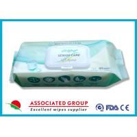 Buy cheap All Ages Adult Wet Wipes PH Balanced Big Size Safe Spunlace For Sensitive Skin product