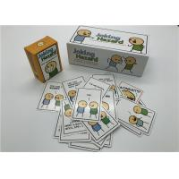 Funniest Party Joking Hazard Card Game OEM / ODM Welcome Beautiful Design