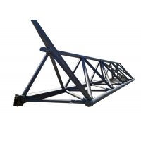 Buy cheap Fabricated House Galvanized Prefabricated Steel Truss product