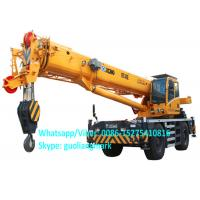 Buy cheap Full Hydraulic Power Steering XCMG RT40E 40 Ton All Wheel Drive Small Rough Terrain Tractor Crane With 20.5R25 Tire product