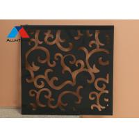 Buy cheap Durable Decorative Wall Panels , Aluminum Decorative Sheets 1220 × 2440mm product