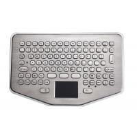 Buy cheap Mini IP65 Explosion Proof desk top industrial metal keyboard With waterproof touchpad product