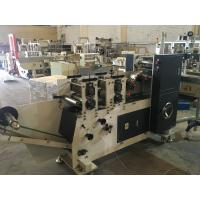 Buy cheap Single Line Pocket Tissue Folding Machine With Stacking System 380V from wholesalers