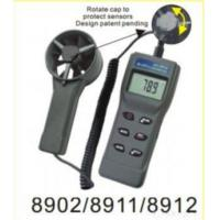 Buy cheap 8911 Handheld Anemometer+rh% Remote Fan Air Flow Meter W/rh% product